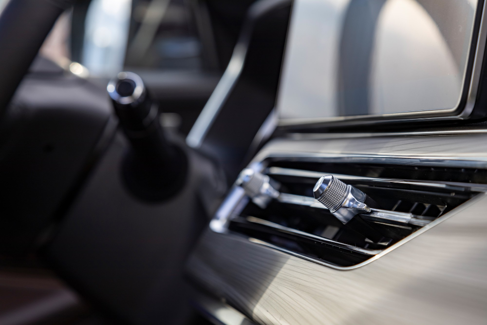 interior-air-duct-front-panel-premium-car-close-up-side-view